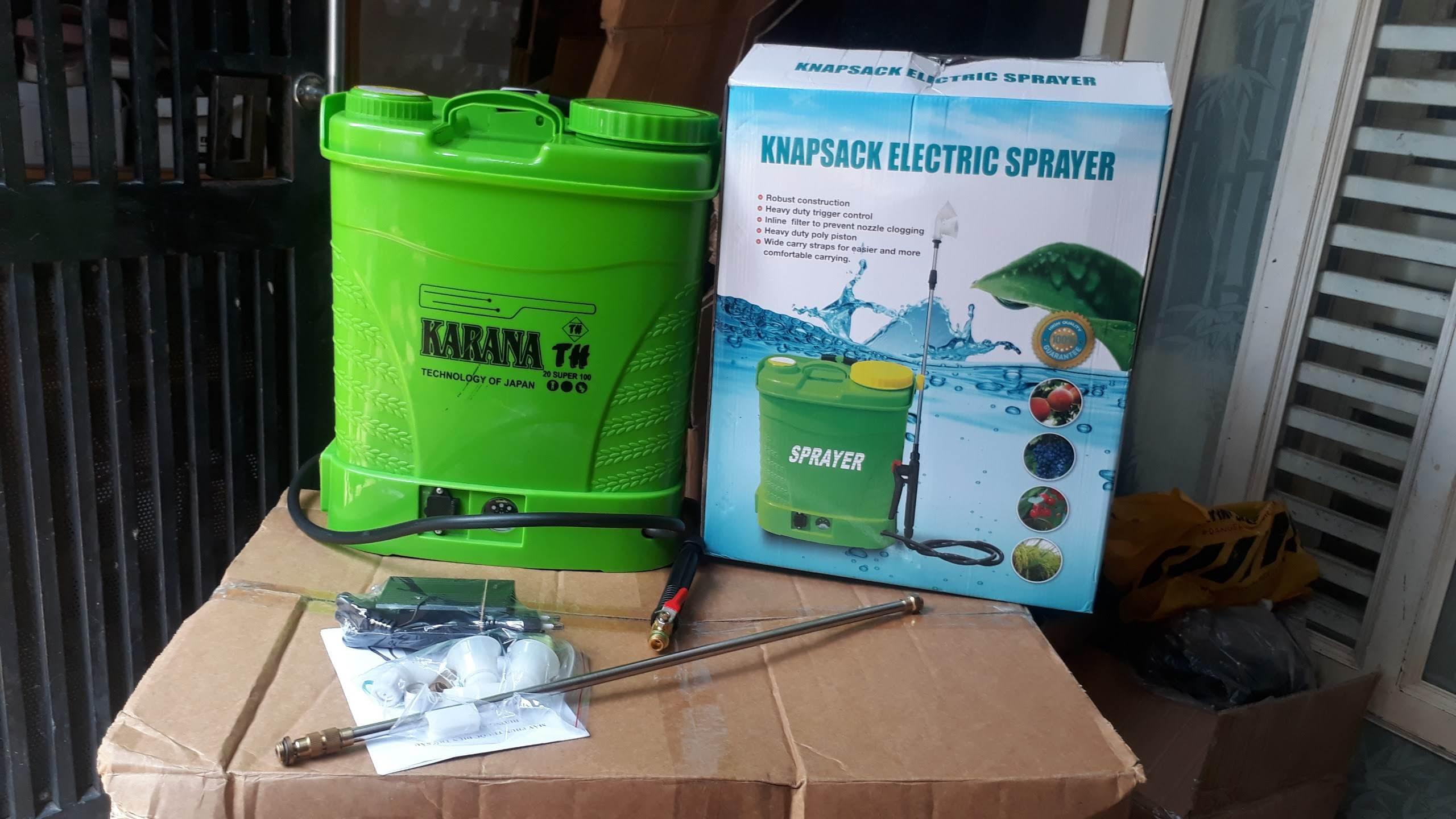 Bình xịt điện 12 lít Karana